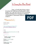 TP1 Analyse Numerique