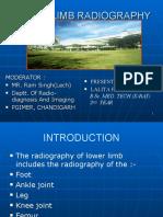 Lower Limb Radiography