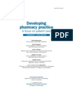Developing Pharmacy Practice. a Focus on Patient Care