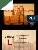 o Tempo Em Memorial Do Convento (1)