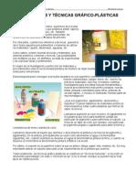 Materiales y técnicas de expresión gráfico-plástica