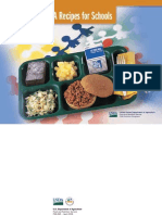 USDA School Lunch Recipes - 2007