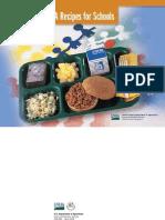 USDA School Lunch Recipes - 2007
