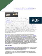 Intel Prosessor History