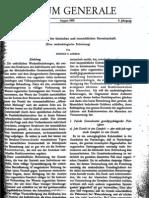 Lorenz Konrad, Ganzheit und Teil in der Tierischen und menschlichen Gemeinschaft