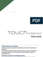 Touch Diamond Romanian QSG