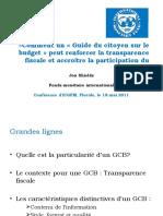 «Comment un « Guide du citoyen sur le budget » peut renforcer la transparence fiscale et accroître la participation du public »