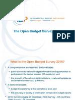 The Open Budget Survey 2010