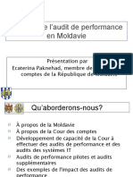 L'impact de l'audit de performance en Moldavie May 2011 (FR)