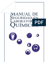 Manual de Seguridad en Laboratorios Químicos. SI