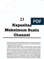 Bab23 Kapasitas Maksimum Suatu Channel