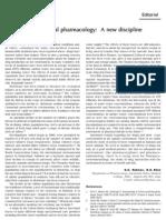 Environmental Pharmacology