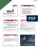 Empreendedorismo Corporativo - Aula 1 e 2 Slides