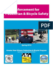 Enforcement for Pedestrian and Bicycl Safety