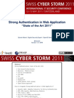 Swiss Cyber Storm 3 Security Conference