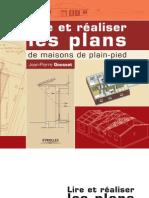 Lire et réaliser les plans de  maisons de plain-pieds