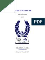 Arthur Powell - El Sistema Solar