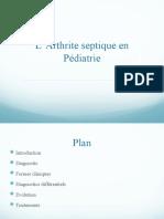 Arthrite Septique