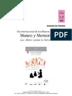 Dossier de Prensa Día Internacional de los Museos 2011