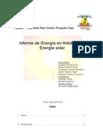 Informe de Energia en Antofagasta Energia Solar FINAL
