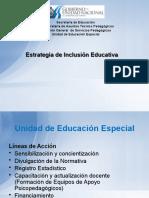 Presentación de Estrategia de Inclusion 2011