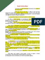 Droit Civil Des Biens (Entier)