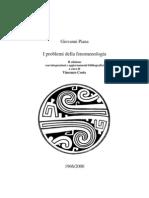 Problemi Della Fenomenologia g.piana