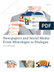 Newspapers and Social Media