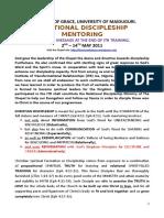 Relational Discipleship Mentoring