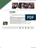 13-05-11 Realizarán foros sobre reformas a la Ley de Seguridad