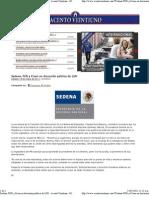 14-05-11 Sedena, PGR y Cisen en discusión pública de LSN