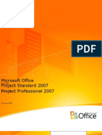 MS Project Standard 2007 Product Guide