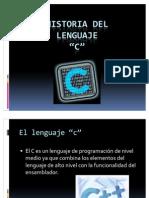 Historia Del Lenguaje C