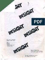 """Insight"" Episode Guide"