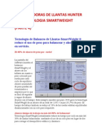 Balance Ad or As de Llantas Hunter Con Tecnologia Smart Weight (Parte 4)