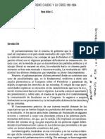 El Parlamentarismo Chileno y Su Crisis - Millar