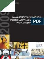 Managementul Serviciilor Publice La Nive