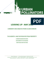 Have we reached peak property? Urban Pollinators newsletter, May 2011
