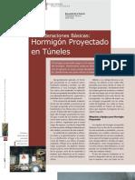 hormigon proyectado tunel