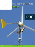 2010 Wind Generator Buyer's Guide
