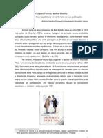 Próspero Fortuna, de Abel Botelho - um romance de tese republicana no centenário da sua publicação