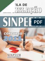 Concurso Prefeitura de São Paulo - Apostila Legislacão - 2011