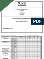 DGC 2010 Rate Sheet