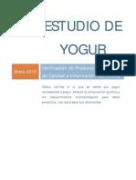Estudio Yogur Chile