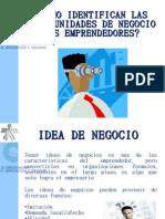 Identificacion de Idea de Negocio
