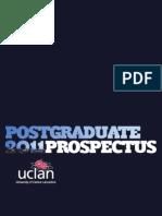 Postgraduate Prospectus 2011