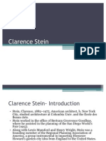 Clarence Stein