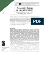 Kaizen - Estudo Empírico