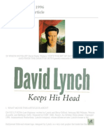 DFW David Lynch