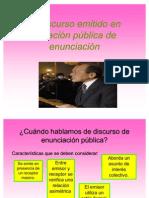 Discurso Público